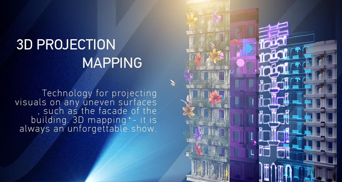 3D mapping projection | Interactive World